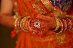 Jewellery - The Bride Anuradha! Photos, Hindu Culture, Gold Color, Rings, Polki Kundan Jewellery, Arabic Mehandi pictures, images, vendor credits - Tivoli Garden Resort Hotel, Umrao Hotels and Resorts Pvt Ltd, WeddingPlz