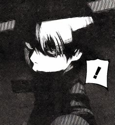 This is probably the finest death glare I've ever seen. - Tokyo Ghoul:re 68