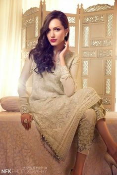 Show Mall and Bridal Dresses Online : Elan Summer Collection Pakistani Couture, Indian Couture, Pakistani Outfits, Indian Outfits, Ethnic Fashion, Asian Fashion, Women's Fashion, Fashion Outfits, Summer Dresses 2014