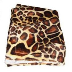 Zebra blanket - White Plush faux fur baby blanket in giraffe print with cream supersoft fleece reverse. 75cm x 75cm Perfect size for sitting baby on when using