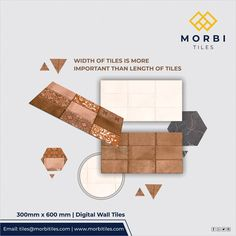 Morbitiles offers a wide range of Wall Tiles in India. Buy the best Wall tiles for your projects. Wall Tiles Design, Digital Wall, Cool Walls, Outdoor Walls, Platform, Architecture, Decoration, Projects, Inspiration