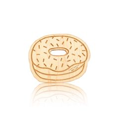 Donut Wooden Teether - this is adorable and functional for baby!