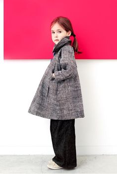 Lorraine Kitsos at Redfish Kids Clothing wants children to explore life with courage and creativity. To do that, kids need clothing that expresses their individuality and allows them freedom of movement. From the Fall 2012 collection, is The Coat for Chloe, a chic piece with generous swing-cut styling that allows ample room for layering. www.redfishkidsclothing.com