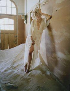 Agyness Deyn by Tim Walker, Vogue UK May 2011