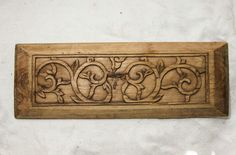 Old Chinese Carved Wood Door Panel Antique Tan Flower Beige Floral Antique Tan | eBay