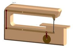 Simple Scroll Saw - PTC Creo Parametric, Other - 3D CAD model - GrabCAD
