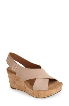 177206c67ca4a7 Clarks®  Caslynn Shae  Wedge Sandal (Women)