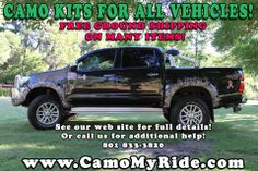 #CamoMyRide #Realtree #MossyOak It's SRPING and time to turn your ride green with CAMO! Or for that matter, any of the over 60 Camouflage Patterns we offer. From Full Truck Wraps and Rocker Panel Kits, to ATV/UTV Kits and Boat Kits, we have it all! SHARE OUR PHOTO TO HELP A SMALL BUSINESS! www.CamoMyRide.com