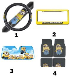 How would you like to decorate your car? check out 7 car decors as gifts for friends will make driving less boring! Car Accessories Gifts, Ecommerce Hosting, Minions, Decor, Decoration, The Minions, Decorating, Minions Love, Minion Stuff