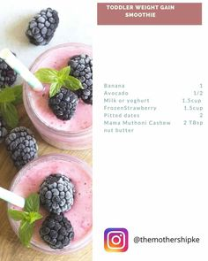 Baby Meals, Nut Butter, Baby Food Recipes, Weight Gain, Avocado, Banana, Fruit, Recipes For Baby Food, Lawyer