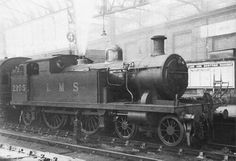 LMS class 2P  4-4-2 T Steam Trains Uk, Steam Railway, British Rail, Thomas The Tank, Steam Engine, Steam Locomotive, Great Britain, Engineering, Around The Worlds