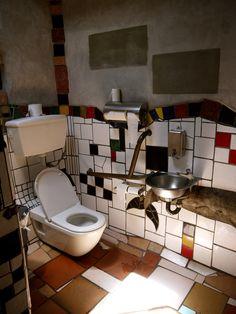 Hundertwasser Toilets - Kawakawa, New Zealand