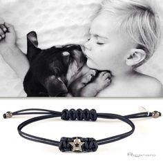 Un'amicizia che non avrà mai fine.. - bracciale stella in oro e diamanti brown a partire da € 330. http://tinyurl.com/oj88ldl