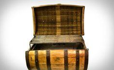 Whiskey Barrel BBQ Pit