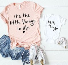 Mom Shirts Discover Mommy and Me Mommy and Me Mommy to Be Mommy and Me SVG Little things in life Svg Files Svg Files for Cricut Mom Gift Baby Mommy And Me Shirt, Mommy And Me Outfits, Mom And Me, Mommy Baby Matching Outfits, Baby Girl Outfits, Mommy And Me Clothing, Baby Clothes Girl, Baby Girl Closet, Baby Bikini