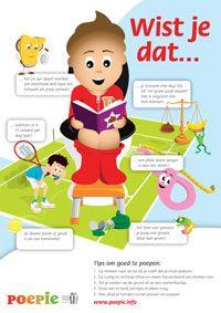 Poepie. Website van Lever en Darm Stichting met info voor kinderen over de spijsvertering en poepen. Met spelletjes etc.