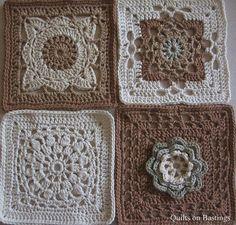 200 Crochet Blocks | Flickr: Intercambio de fotos