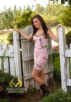 Realtree Girl@ Pink Camo Tank Top