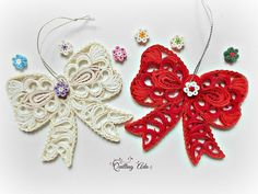 Quilled bow