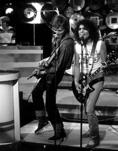 Marc Bolan and David Bowie - Marc TV show -  7 September, 1977