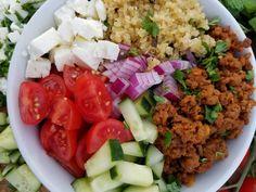 Clean Greek Protein Bowls