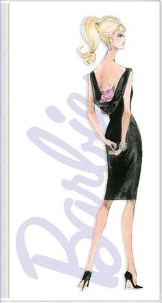 Robert Best Barbie Sketch