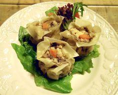 vegan tofu shumai
