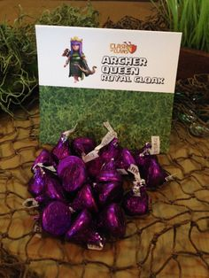 Clash of Clans Birthday Party Sign Tents PDF DIY Instant Download - YOUR PARTY SOLVED