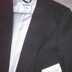 Brand new Old Navy dress jacket Perfect black dress jacket new with tags Old Navy Jackets & Coats Blazers