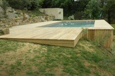 terrasse acacia plage de piscine