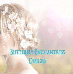 Wedding Hair Accessories Hair Flowers by ButterflyEnchantress, $29.99