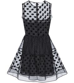 mytheresa.com - Polka-dot silk-organza mini dress - Luxury Fashion for Women / Designer clothing, shoes, bags