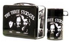 The Three Stooges Vintage Lunchbox with Thermos