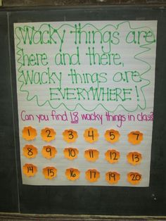 wacky wednesday dr. seuss activity | Wacky Wednesday