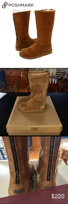 Ugg Knightsbridge Boots Ugg Knightsbridge boots:  Chestnut color, size 7.  New in box, never worn. UGG Shoes Winter & Rain Boots