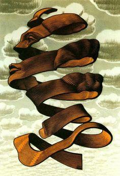 Escher (via lameveins)