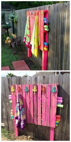 Cool Pool Tables >> Noodle/towel holder made from a pallet. | RECLAIMED ...