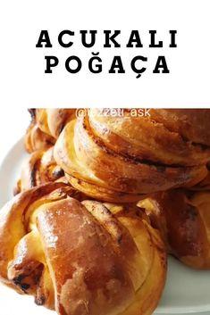 ACUKALI Poğaça Tarifi Baked Potato, Potatoes, Pasta, Baking, Ethnic Recipes, Food, Bread Making, Meal, Bakken