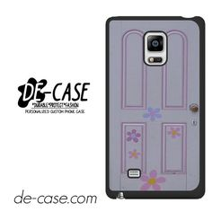 Disney Monster's Inc Boo Door DEAL-3363 Samsung Phonecase Cover For Samsung Galaxy Note Edge