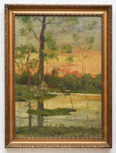STIMMUNGSIMPRESSIONISMUS-c1890-OLGEMALDE-ART-NOUVEAU-HAAGER-SCHULE-AUS-SAMMLUNG New Day, Art For Sale, Painting, Ebay, Impressionism, Mood, School, Painting Art, Kunst