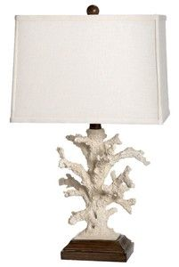 DIY using lamp kits and coral decor?