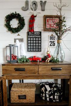 35 Inspiring Farmhouse Christmas Decorations