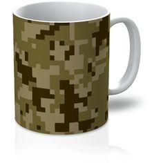 Muddy Digital Brown CAMO Mug