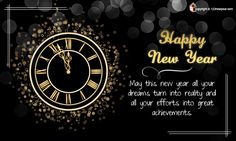 New Year Greeting Ecard