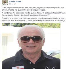 RN POLITICA EM DIA: DO FACEBOOK DE CÉZAR SANTOS...