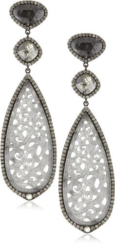 Gray Jade Lace, Black Diamonds...I would rock these hard!