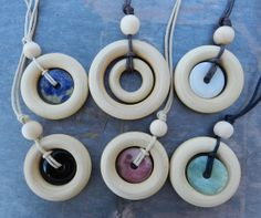 WHOLESALE set of 6 necklaces by LifeCirclesNecklaces on Etsy, $45.00