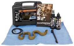 If you spent a day of competition shooting, then you'll need to make sure to clean out your pistol so that it is ready to go for the next time. This M-Pro7 Tactical Pistol Cleaning Kit helps you do just that by providing everything you need.
