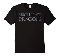 Silver Mother of Dragons T-Shirt