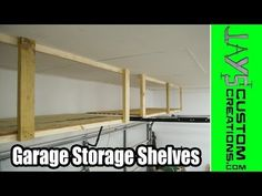 Adding Storage Above The Garage Door | Jays Custom Creations
